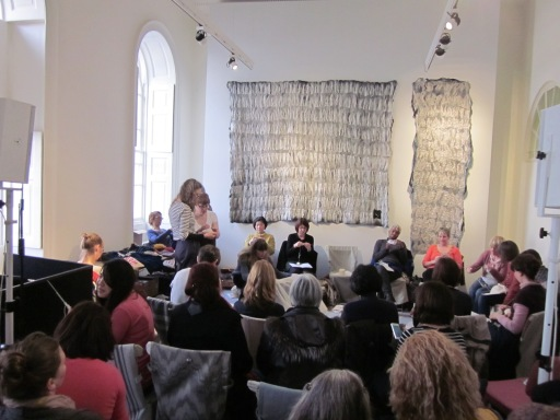 One of Sandra's Masterclasses in the Events Room at Wool House