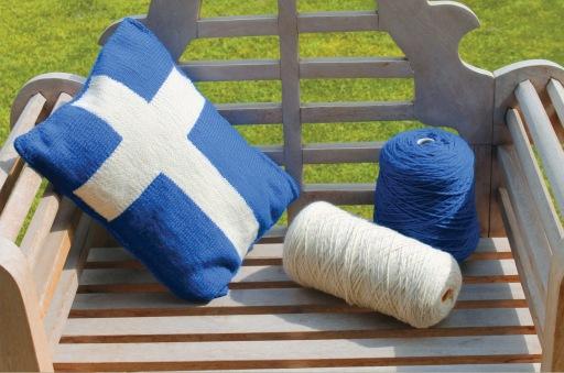 Shetland Flag Cushion