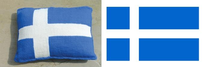 Shetland Flag Cushion-1
