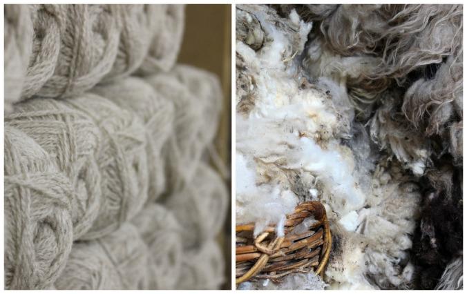 wool and fleece