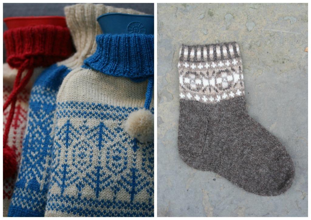 Toatie Hottie and Yuglet Socks