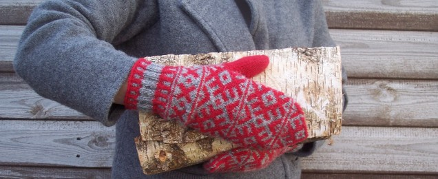 Finnish Midwinter Mittens