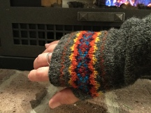 Up Helly Aa Mitts by Laknits