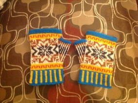 Fair Isle Mitts by lav