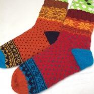 Norse Fire Socks by tinygiraffe